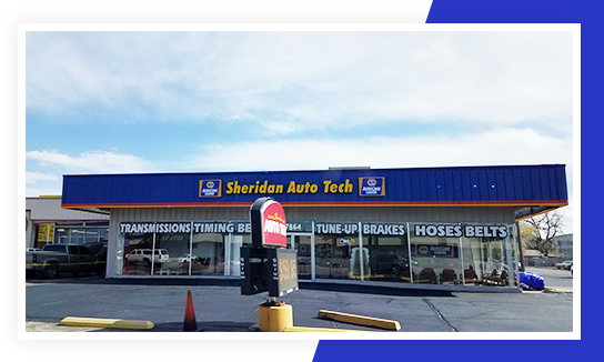 Sheridan Auto Tech | Front Side Of The Shop